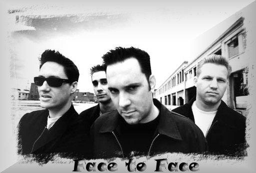 Face to Face – en Directo Presentando nuevo disco – Laugh now, laugh later