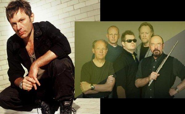 Bruce Dickinson, Ian Anderson y Justin Hayward concierto por navidad