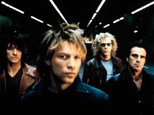 Bon Jovi, una banda de Hard Rock nacida en la década de los 80