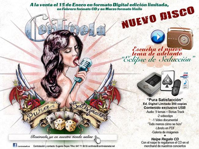 Nuevo disco de Centinela