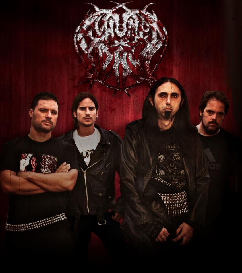 "Exhumed Day con su tercer disco ""The Beauty Of Putrefaction"" de gira acompañados por Anvil Of Doom"