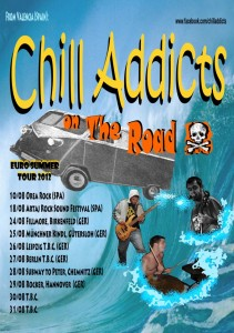 Chill Addicts gira 2012