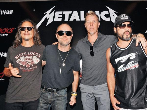 Vuelve Metallica en septiembre con nuevo disco