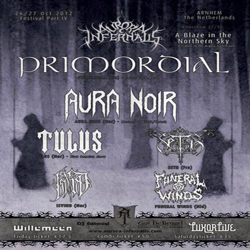 IV Edición del festival de metal extremo Aurora Infernalis Festival