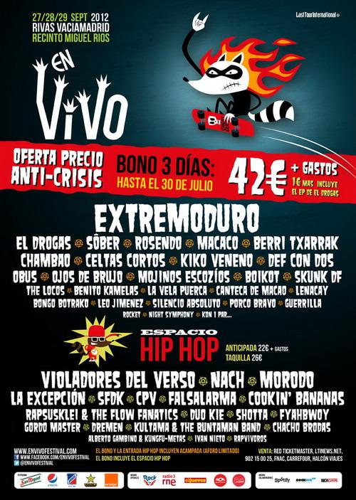 """Festival """"En Vivo""""  en Rivas-Vaciamadrid"""