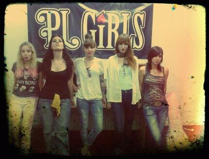 Pl Girls anuncian fechas y grabación de su primer videoclip