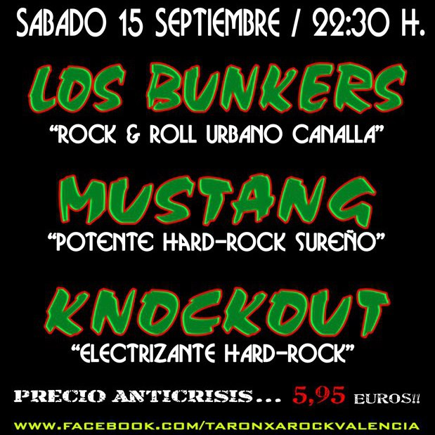 Taronxa Rock Party en Valencia