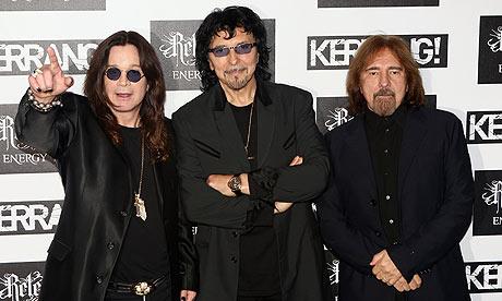 Black Sabbath prepara nuevo disco para 2013
