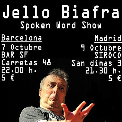 Jello Biafra Spoken Word Show