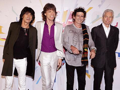 Rolling Stone darán conciertos en Londres y New Jersey en este 2012
