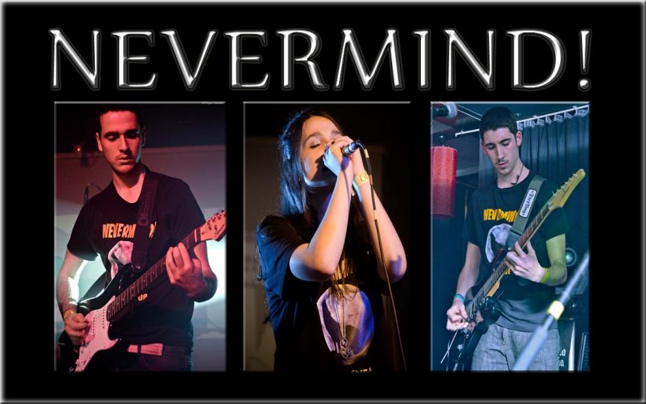 NeverMind! grabará su primera maqueta Never Give up
