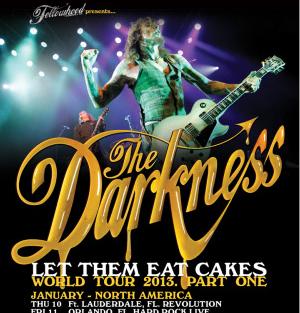 The Darkness anuncia nueva gira mundial