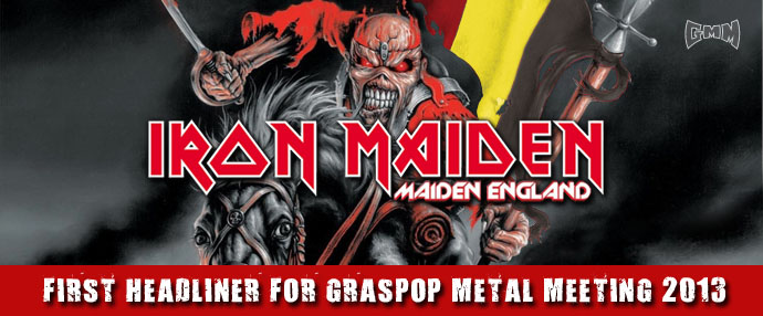 IRON MAIDEN cabeza de cartel del Graspop Metal Meeting 2013