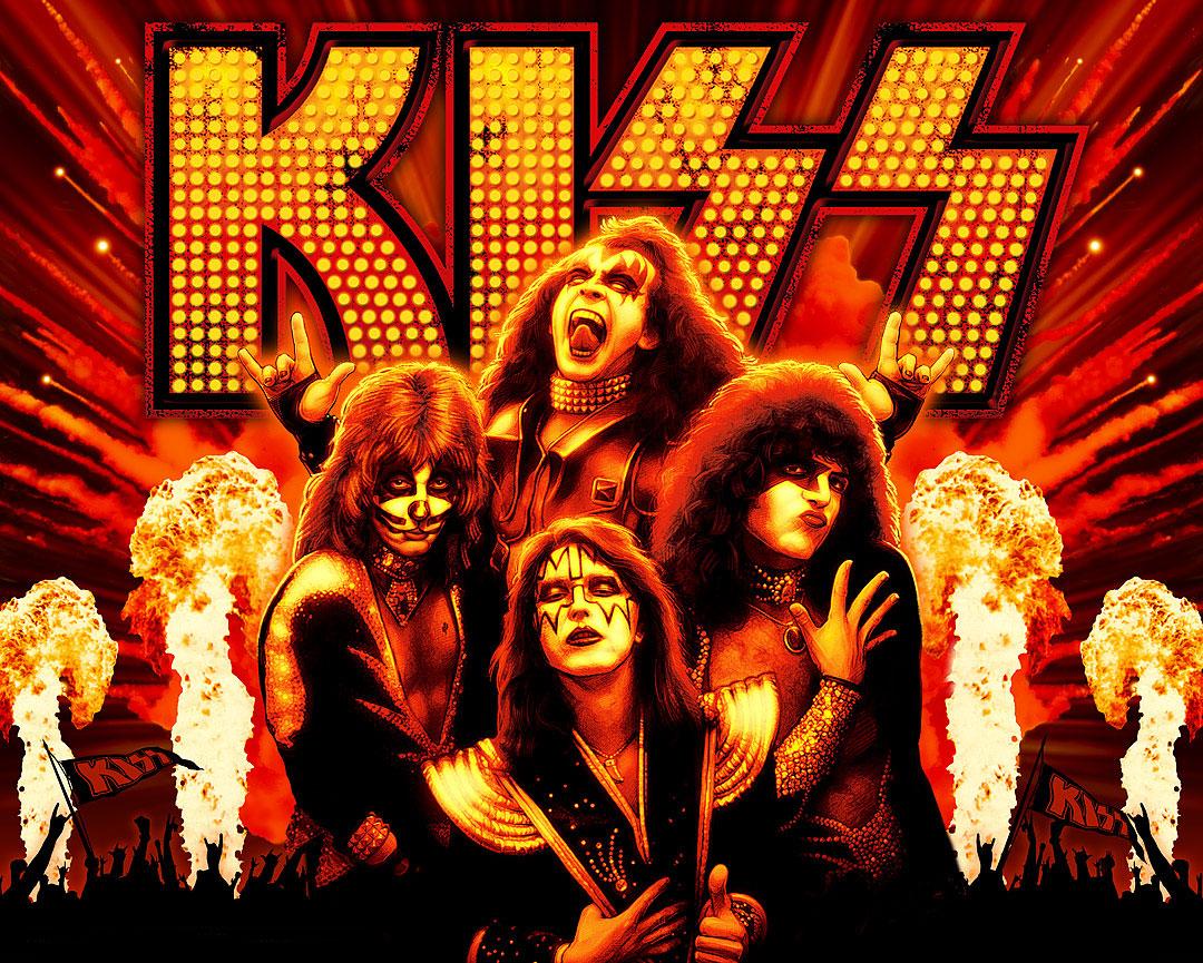 KISS en el Azkena Rock 2013