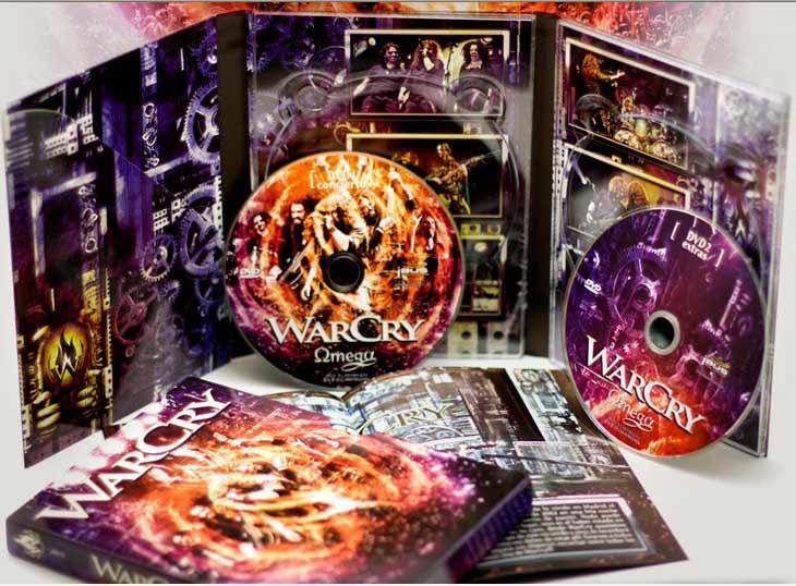 Trailer y fecha de lanzamiento de Omega, el nuevo DVD de Warcry