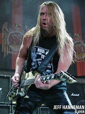 Jeff Hanneman continúa con su recuperación