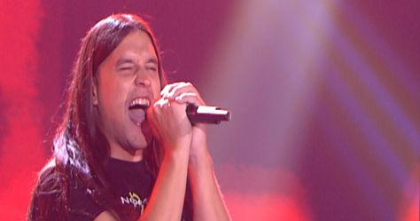 Rafa Carpena (Nocturnia) se proclama ganador de La Voz