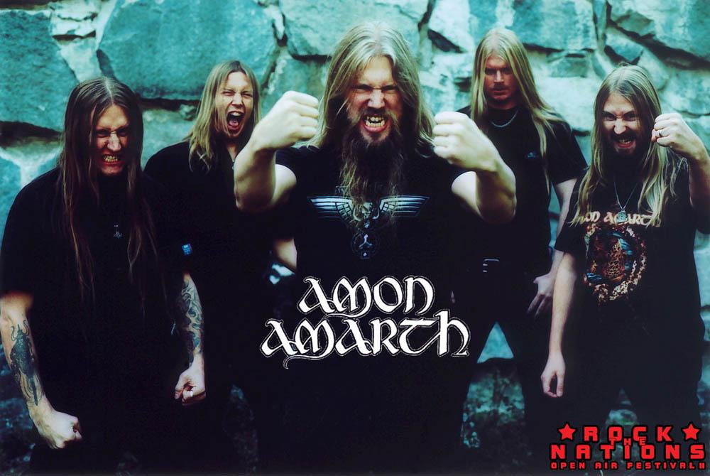 Amon Amarth ya están en el estudio de grabación