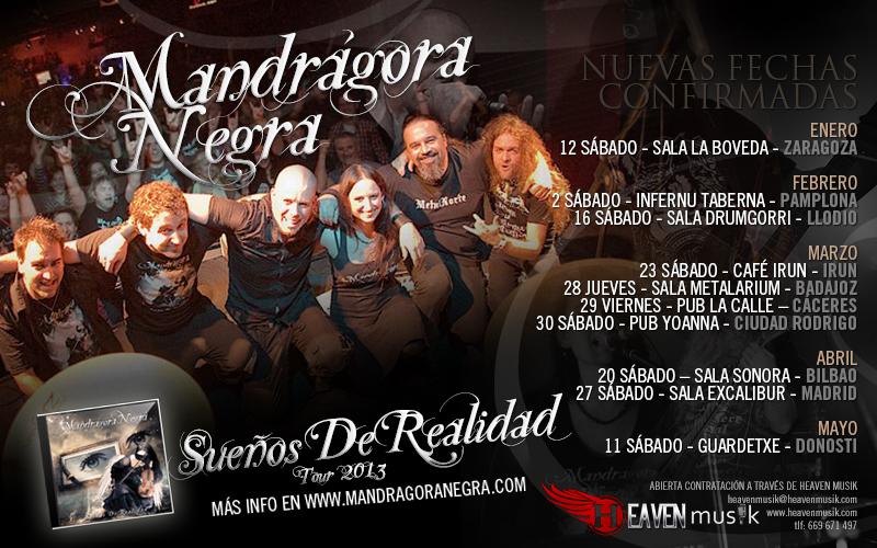 Mandragora Negra fechas gira