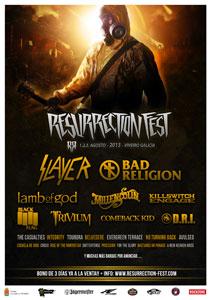 Confirmadas las primeras bandas para el Resurrection Fest 2013