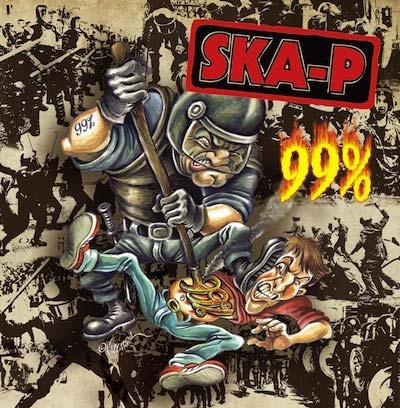 Ska-P ya tienen portada para su nuevo disco 99%