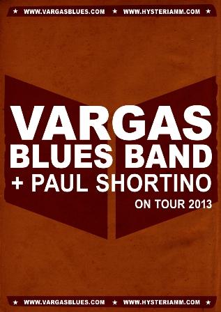Vargas Blues Band + Paul Shortino en Valencia con su Gira 20 Aniversario