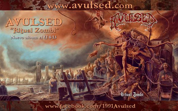 Detalles del nuevo disco de estudio de Avulsed