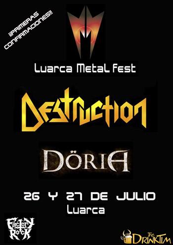 Cartel completo del Luarca Metal Fest