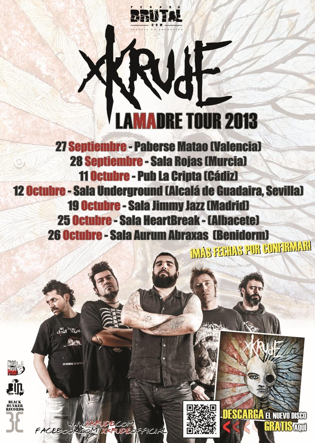 Xkrude Tour