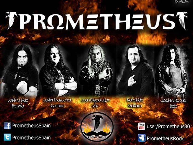 La banda valenciana PROMETHEUS nos presentan a su nueva formación