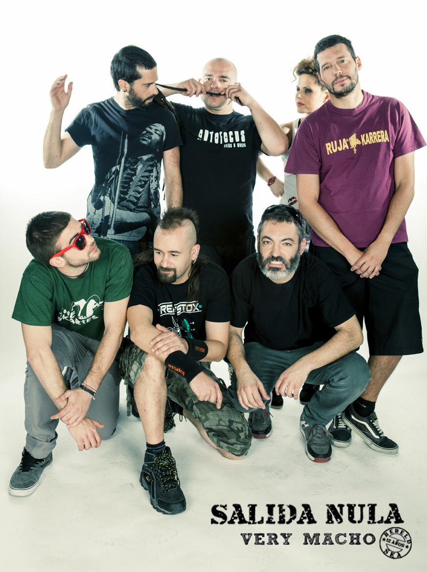"""SALIDA NULA """"Very Macho"""" Nuevo CD/DVD a la venta 22/10"""