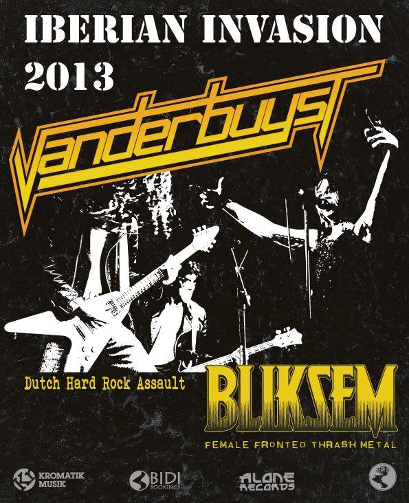 Vanderbuyst y Bliksem en Madrid, Valencia, Zaragoza y Burgos