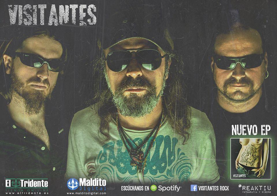 """VISITANTES presentan su nuevo disco """"Invasión"""""""
