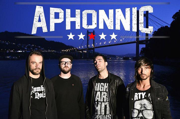 "Aphonnic presenta su último disco ""Heroes"" en Ourense"