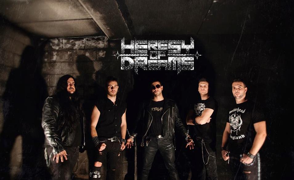 Heresy Of Dreams nos muestran la portada el titulo y el tracklist de su debut