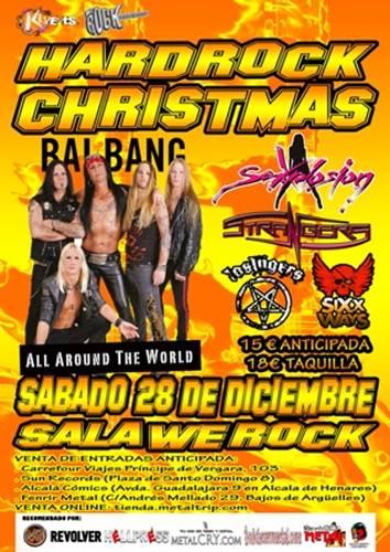 Kivents presenta el Hard Rock Christmas Fest el 28 de Diciembre