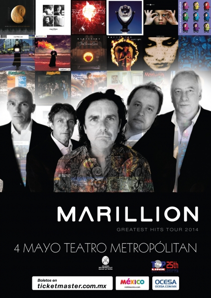 Marillion regresa a Mexico