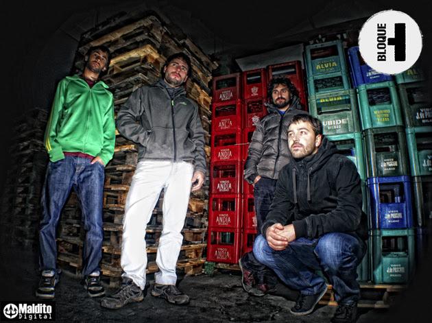 Los bilbaínos BLOQUE H publican su primer disco el 30 de diciembre