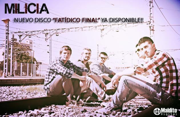"""Milicia publican su debut """"Fatídico final"""""""