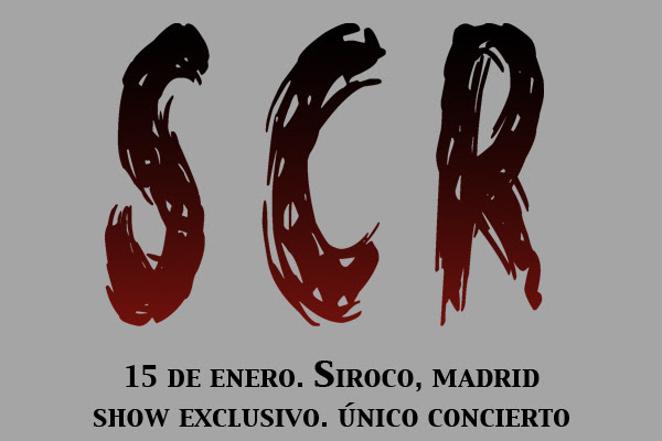 Único concierto de la misteriosa banda SCR en Madrid