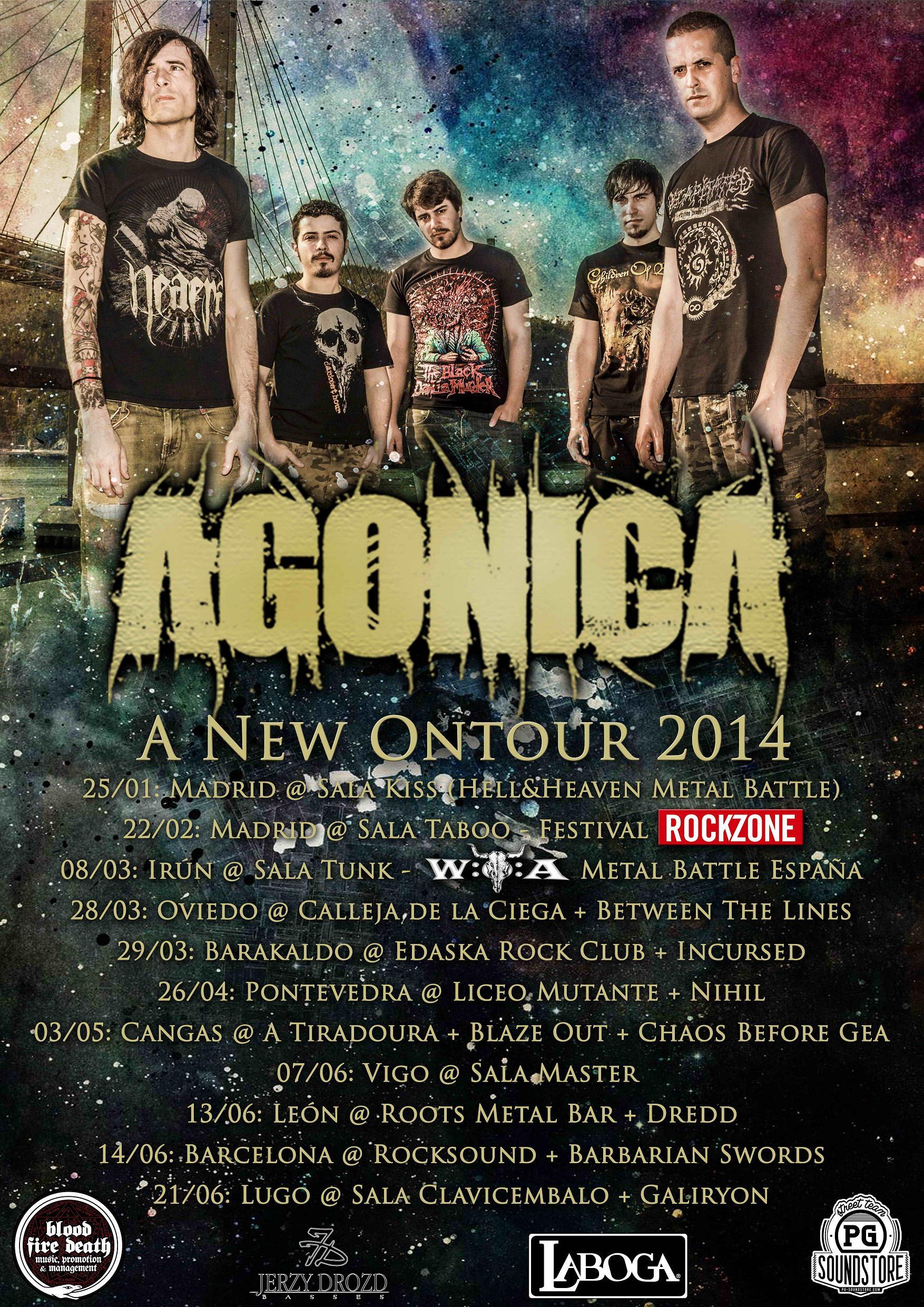 """Segunda tanda del """"A New Ontour"""" de Agónica y nuevo bass playthrough"""