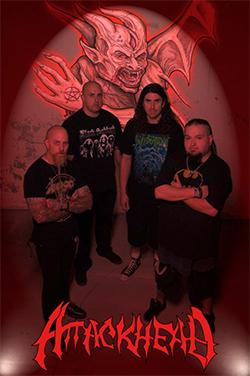 Attackhead anuncia gira en México en Febrero 2014