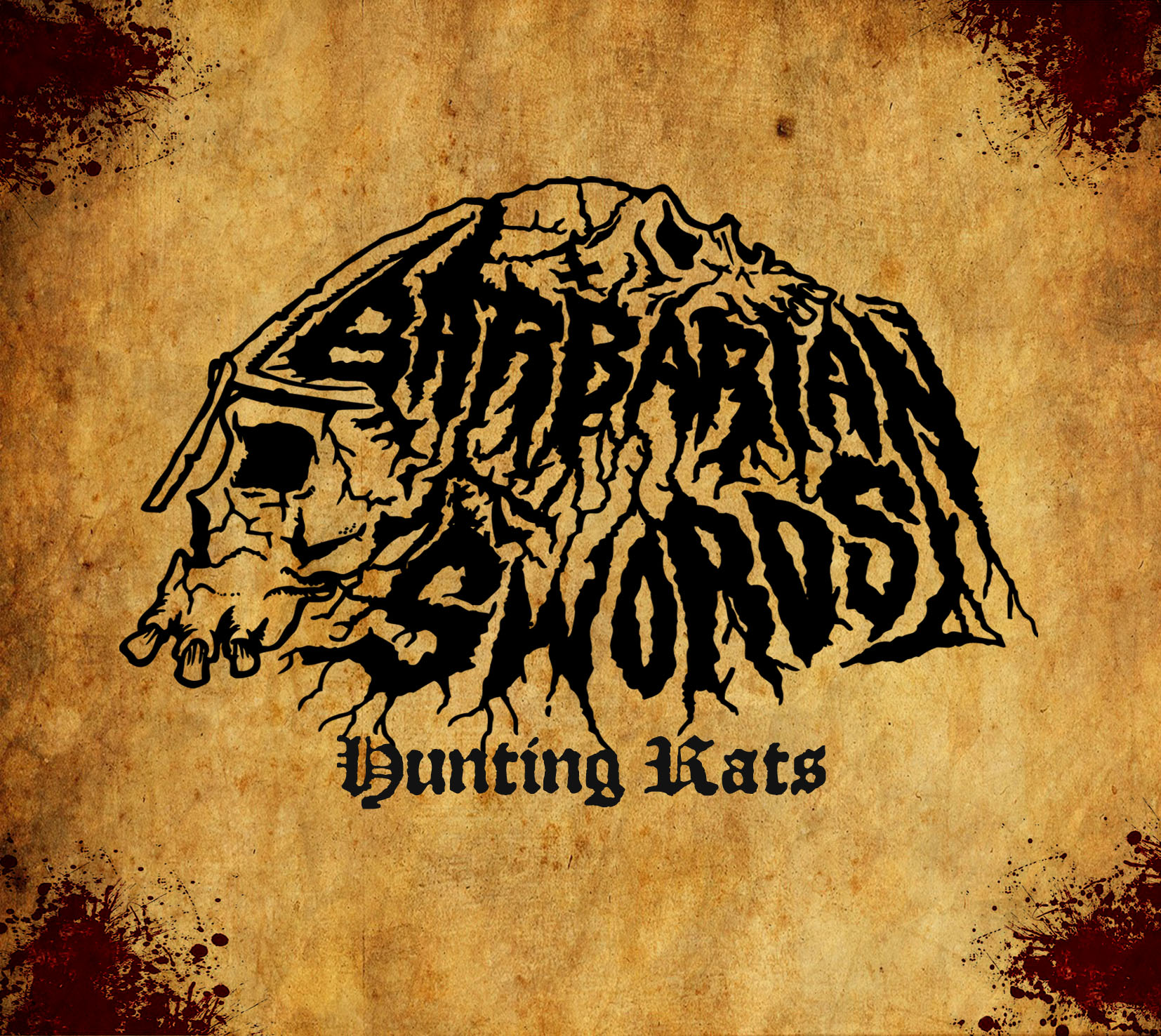 "Portada, single y fecha de salida de ""Hunting Rats"", el debut de Barbarian Swords"