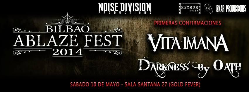 Primeras confirmaciones para el Bilbao Ablaze Fest 2014