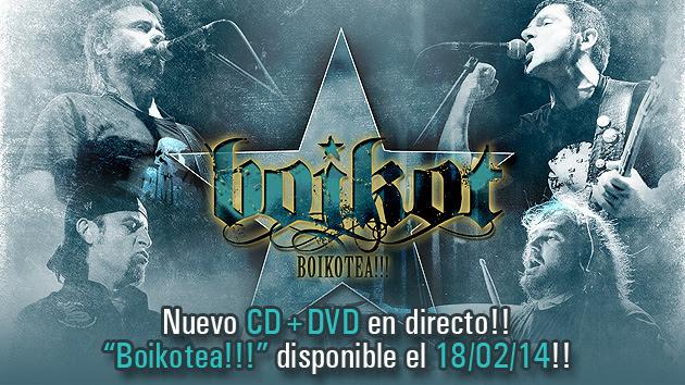 """BOIKOT lanza 2 videoclips como adelanto de su nuevo directo """"Boikotea!!!"""""""