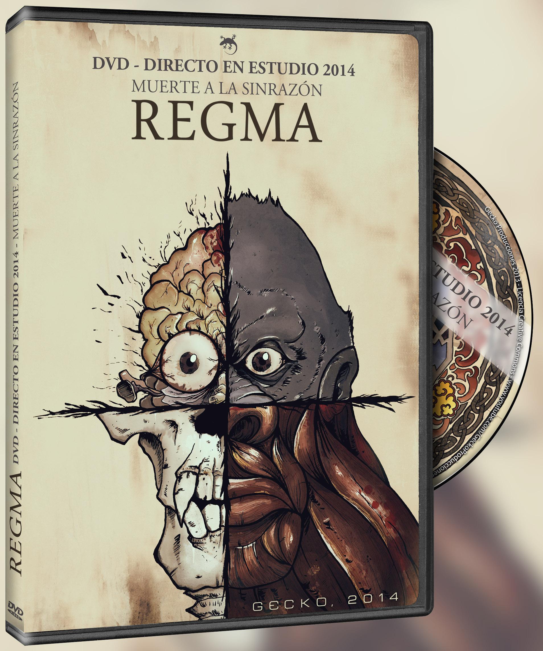 """REGMA PUBLICAN UN DVD """"DIRECTO EN ESTUDIO 2014"""""""