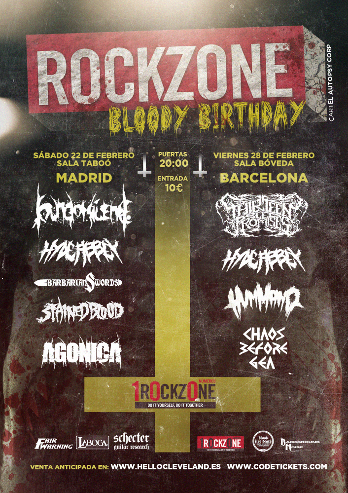 RockZone Bloody Birthday