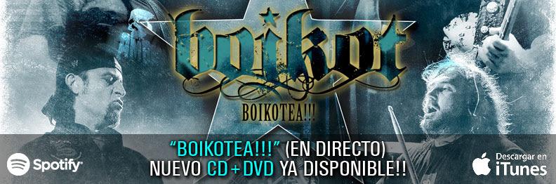 """BOIKOT estrena la versión en euskera del videoclip """"Enloquecer"""""""