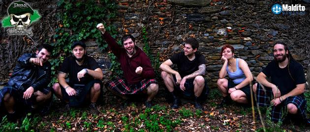 "DRINK HUNTERS publican su segundo álbum ""Lurking Behind the Woods"""