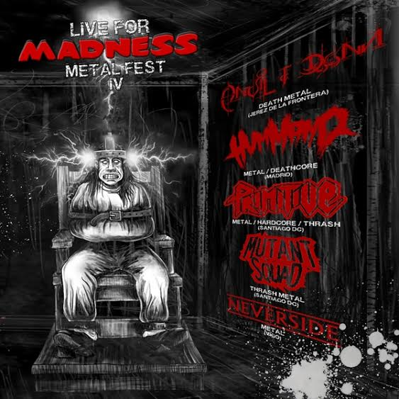 CD Promocional del IV LIVE FOR MADNESS METAL FEST